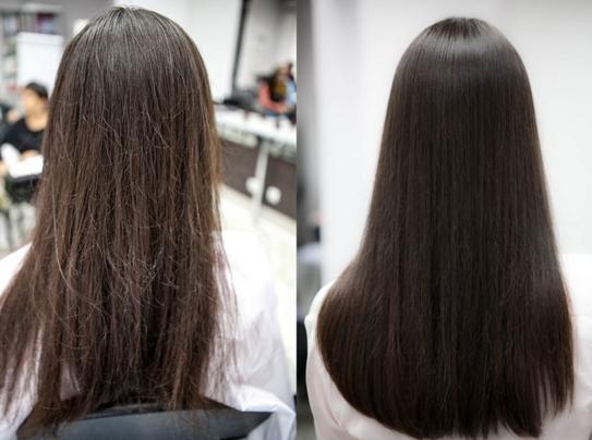 Что дает полировка волос
