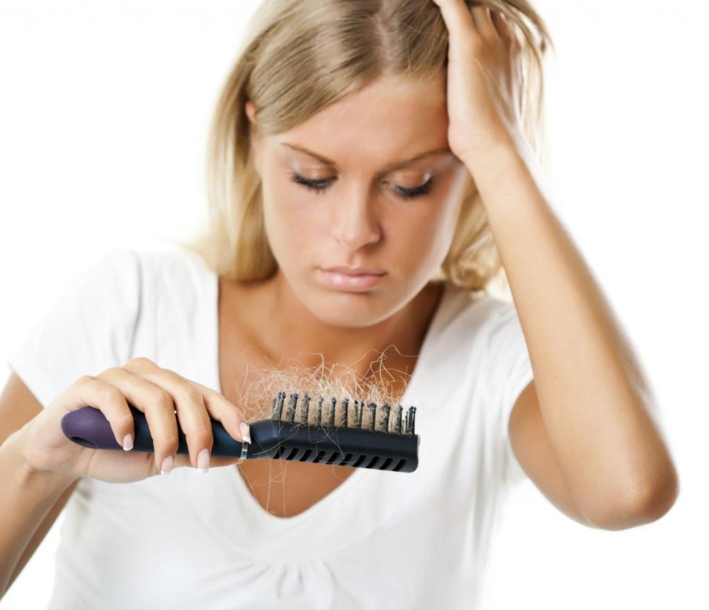 Сильное выпадение волос при беременности